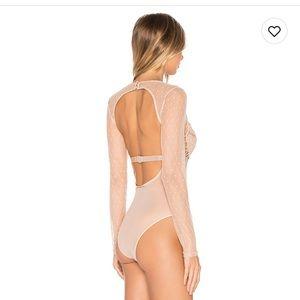 Bardot Tops - Bardot Farrah Bodysuit XS
